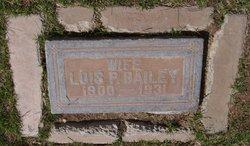 Lois P Bailey
