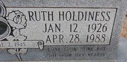 Ruth <I>Holdiness</I> Boatner