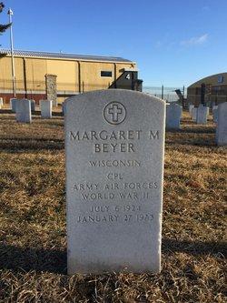Margaret M Beyer