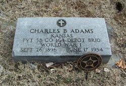 "Pvt Charles Barnard ""Charley"" Adams"