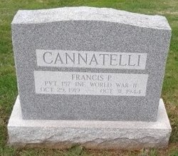 Pvt Francis Paul Cannatelli