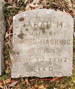 Sarah M. <I>Bryant</I> Haskins