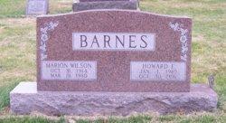 Marion <I>Wilson</I> Barnes