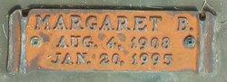 Margaret B Paul