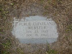"Purlie Cleveland ""Cy"" Webster"