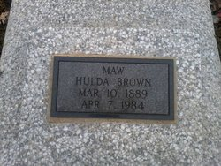 Hulda Anna <I>Myers</I> Brown