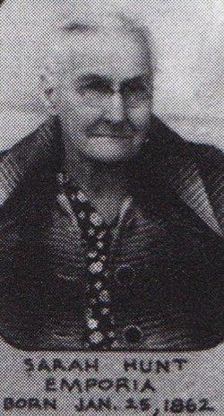 Sarah E. <I>Fowler</I> Hunt