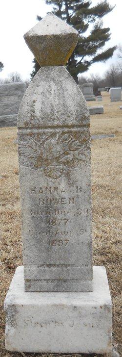 Hanna B. Bowen
