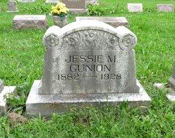 Jessie Maude <I>Buroker</I> Gunion