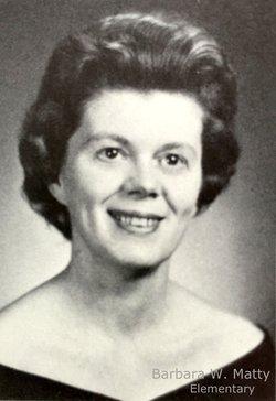 Barbara J <I>Wagner</I> Matty