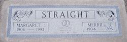 Margaret Idus <I>Baker</I> Straight