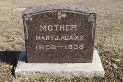 Mary Joanna <I>Artzt</I> Adams