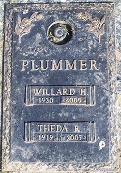 Theda Rosalie <I>Upton</I> Plummer