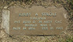 Pvt Kirby A. Strole