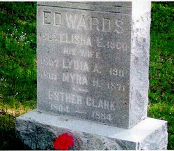 Lydia Ann <I>Clark</I> Edwards