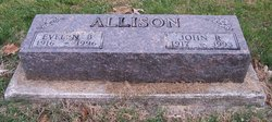 Evelyn Bernice <I>Robeson</I> Allison