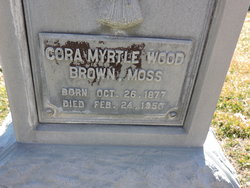 Cora Myrtle <I>Wood</I> Brown Moss