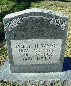 Sally Hannah <I>Keith</I> Taylor