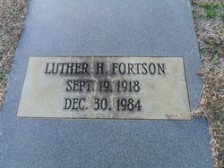 Luther H Fortson