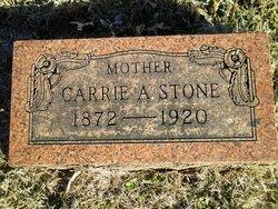 Carrie A <I>Morlan</I> Stone