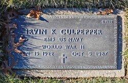 Irvin K Culpepper