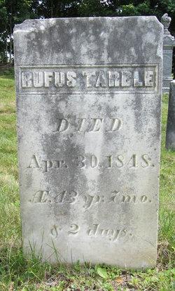 Rufus Tarble