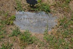 Hattie E. Taylor