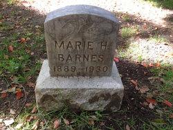 Marie Hilda <I>Larson</I> Barnes
