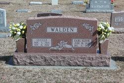 Lucille <I>White</I> Walden
