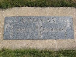 William Henry Bowman