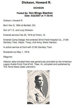 Howard R Dickson