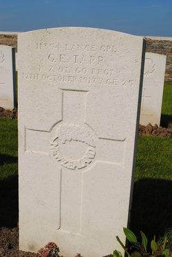 Lance Corporal George Ernest Tapp