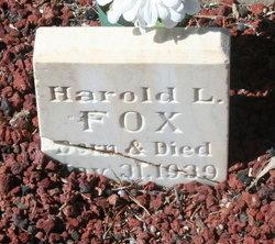 Harold Lavern Fox, Jr