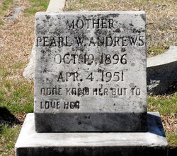 Pearl Wood <I>Price</I> Andrews