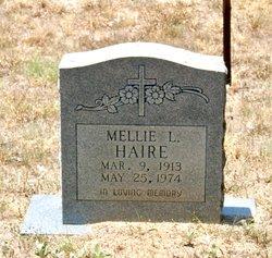Mellie L. <I>Hall</I> Haire