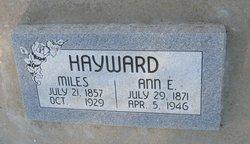 Ann Edith <I>Mann</I> Hayward