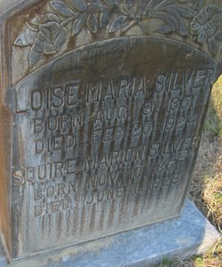Louise Maria <I>Schell</I> Silver