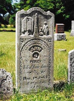 Ann <I>Percy</I> Jones