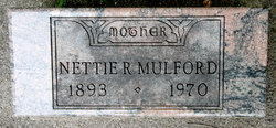 Nettie Ray <I>Keller</I> Mulford
