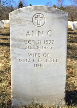 "Anna Columbia ""Ann"" <I>Aaron</I> Besel"
