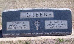 Mrs Salome Louise <I>Rich</I> Green