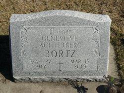 "Genevieve ""Fannie"" <I>Achterberg</I> Bortz"