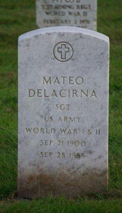 Mateo Buck Delacirna