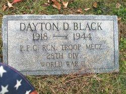 Dayton D Black