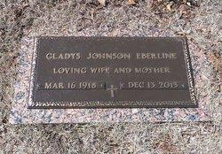 Gladys <I>Johnson</I> Eberline