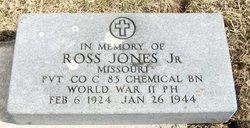Pvt Ross Jones, Jr