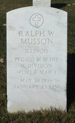 Ralph Walter Musson