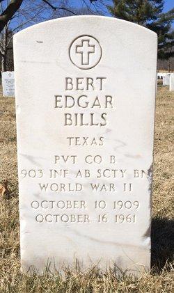 Bert Edgar Bills