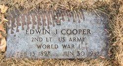 2LT Edwin J Cooper