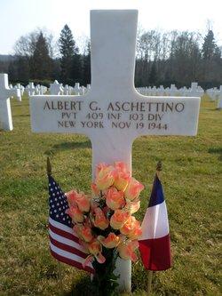 Pvt Albert G Aschettino